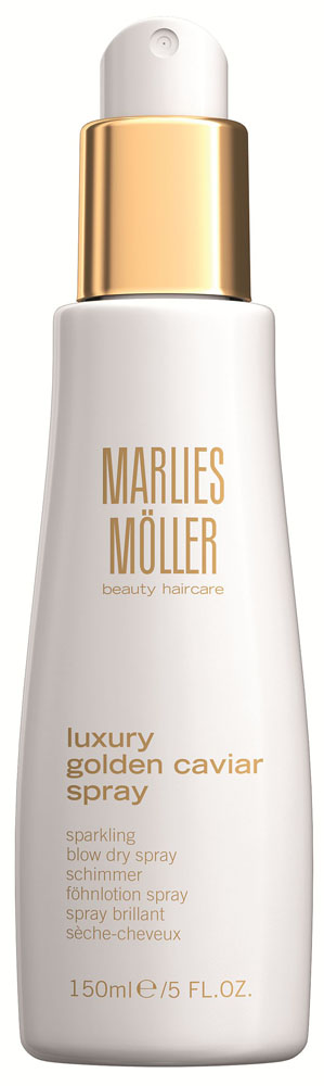 Marlies Moller Luxury Golden Caviar Сухой спрей для придания объема, 150 мл marlies moller specialist шампунь против перхоти 200 мл
