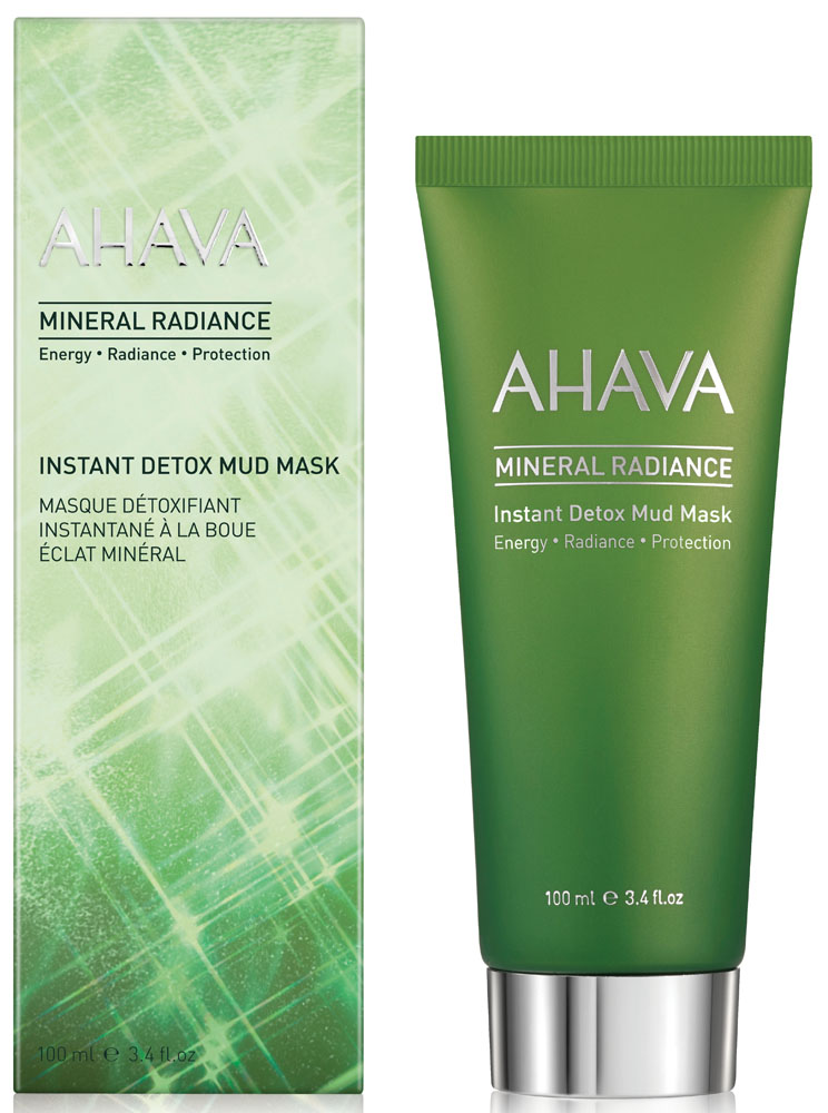 Ahava Mineral Radiance Минеральная грязевая маска, выводящая токсины и придающая коже сияние, 100 мл маска для лица минеральная грязевая ahava mineral radiance 100 мл