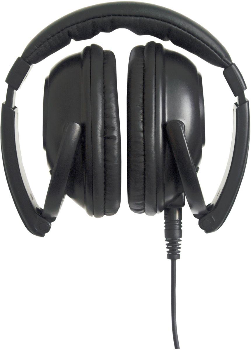 Ritmix RH-510 наушники1511545614-22000Гц, 32Ом, 108дБ, съемный кабель 3м, позолоченный разъем 3.5мм, переходник 6.3мм, чехол