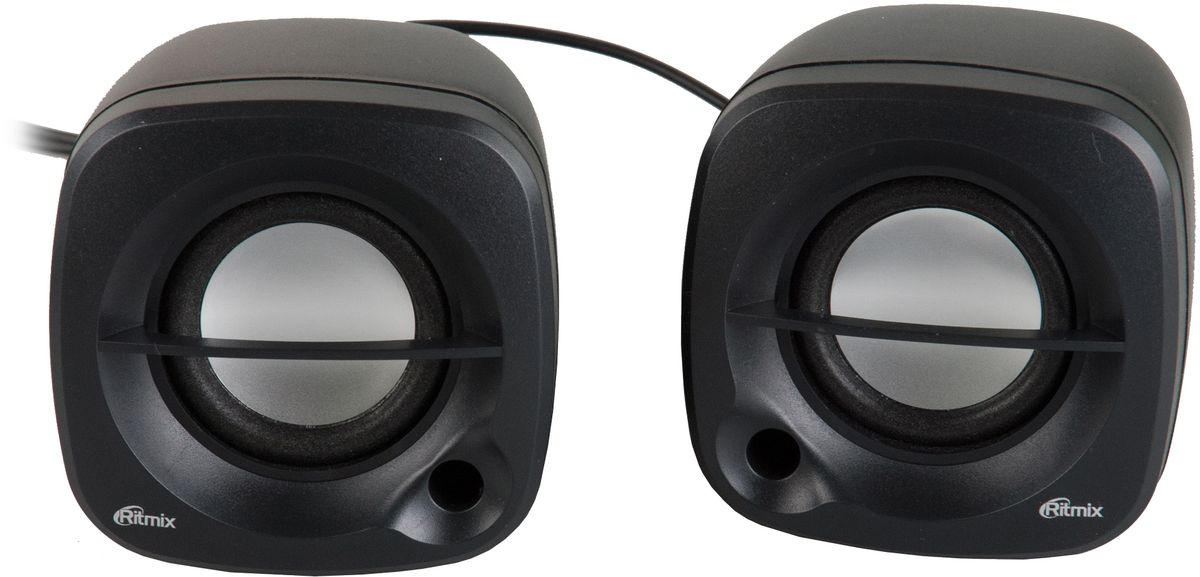 Ritmix SP-2030, Black акустическая система радио часы ritmix радиобудильники ritmix rrc 818 black