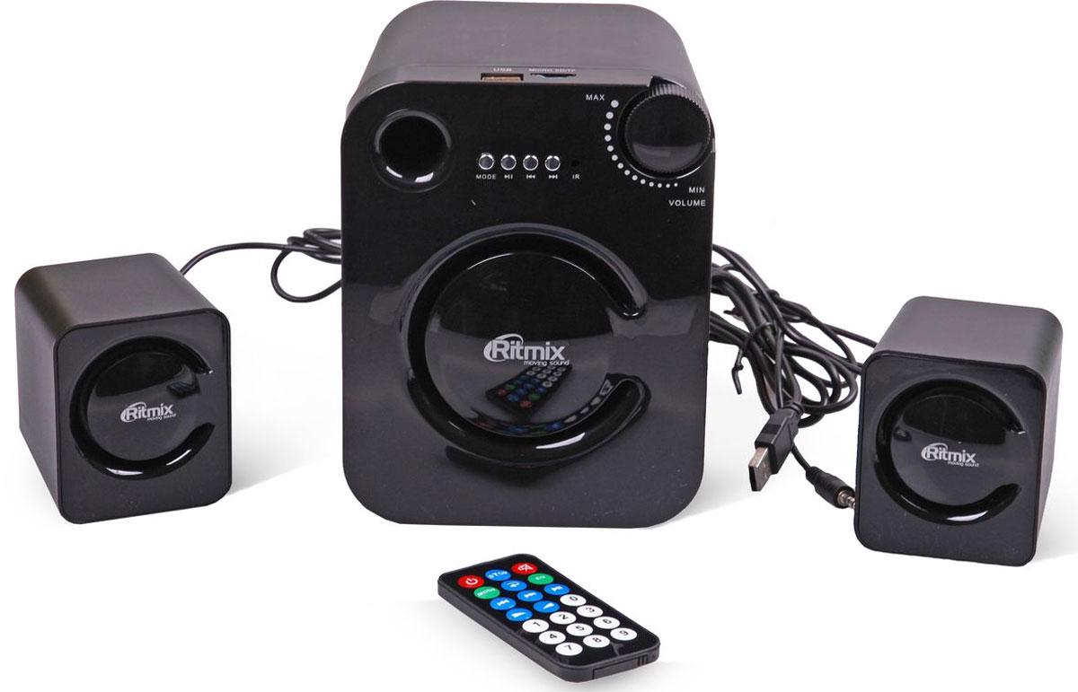 Ritmix SP-2160BTH, Black акустическая система ritmix rdf 710 black цифровая фоторамка