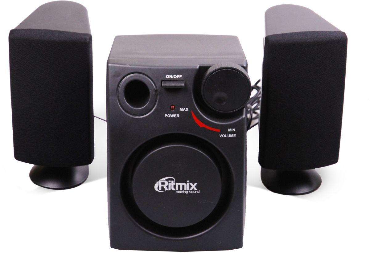 Ritmix SP-2100, Black акустическая система ritmix rdf 710 black цифровая фоторамка