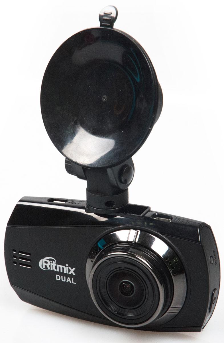Ritmix AVR-955 видеорегистратор15119278Full HD 1920х1080р_30 кад/сек передняя камера + Full HD 1920х1080р_30 кад/сек задняя камера, WDR, датчик движения, g-sens, SOS, MUTE, дисплей 2,7, камера 150 7G, аккум 250mAh