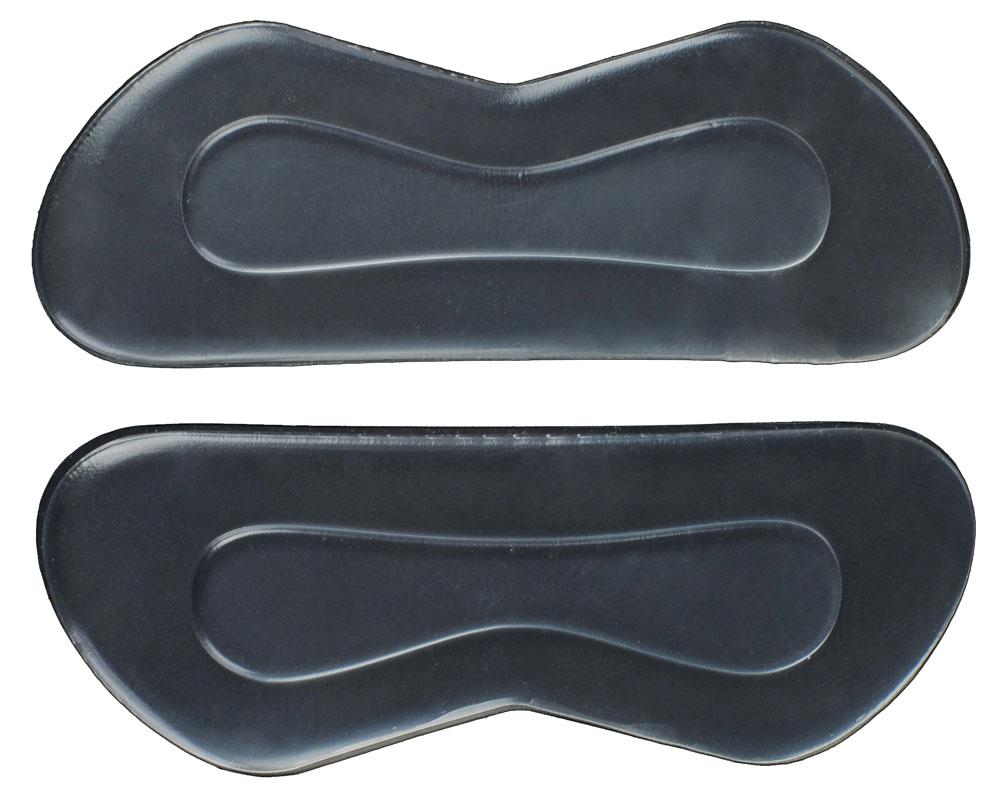 Гелевые вставки для обуви Практика Здоровья для защиты от натирания и фиксакции пятки, цвет: прозрачный. ПГ5. Размер универсальныйПГ5Предназначен для защиты от натирания и фиксации пятки в обуви.