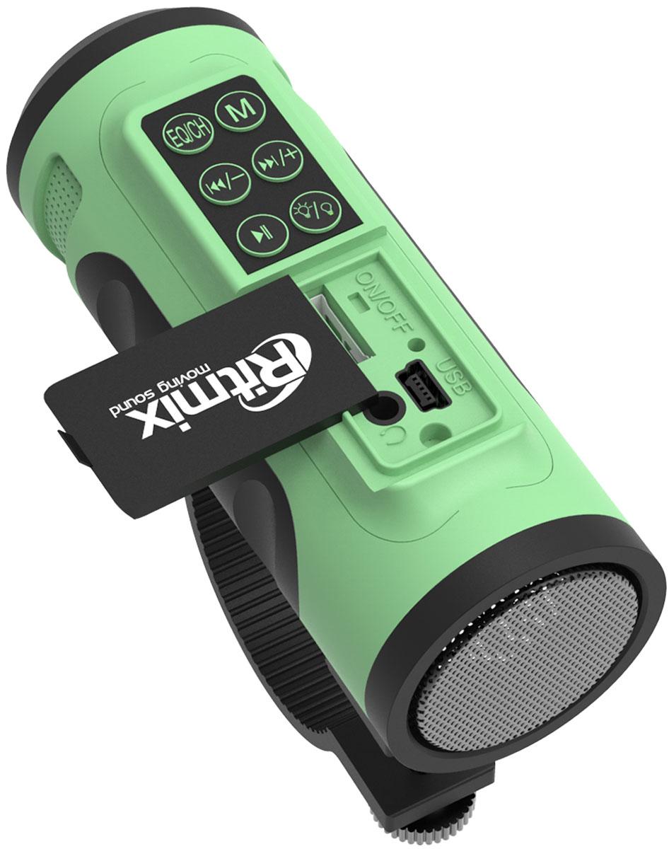 Ritmix SP-520BC, Green Blackпортативная акустическая система Ritmix