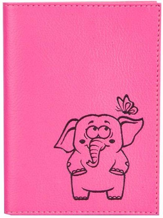 Бумажник водителя женский Fabula Friends, цвет: розовый. BV.56.CHНатуральная кожаБумажник водителя из коллекции Fabula Friends выполнен из натуральной кожи. Внутри два кармана из кожи и внутренний блок из прозрачного пластика для водительских документов.Такой бумажник станет отличным подарком для человека, который ценит качественные и практичные вещи.