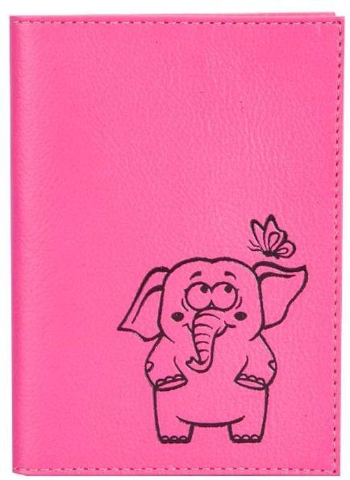 Обложка для паспорта женская Fabula  Friends , цвет: розовый. O.30.CH - Обложки для паспорта