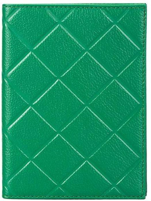 Обложка для паспорта женская Fabula Soft, цвет: зеленый. O.89.FPO.89.FP.лаймОбложка для паспорта из коллекции SOFT выполнена из натуральной кожи. На внутреннем развороте 2 кармана из прозрачного пластика, шелковистая подкладка. Отличительная черта: тиснение в форме ромба.