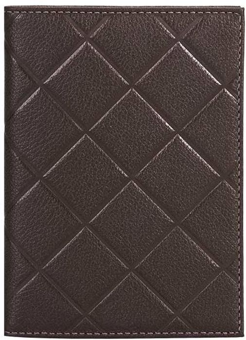 Обложка для паспорта женская Fabula  Soft , цвет: коричневый. O.89.FP - Обложки для паспорта