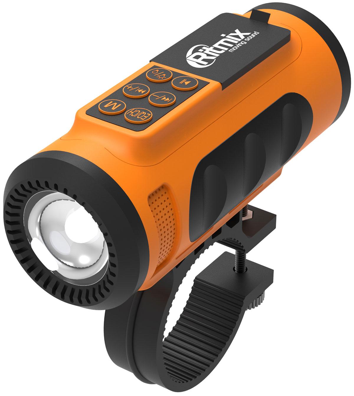 Ritmix SP-520BC, Orange Black портативная акустическая система