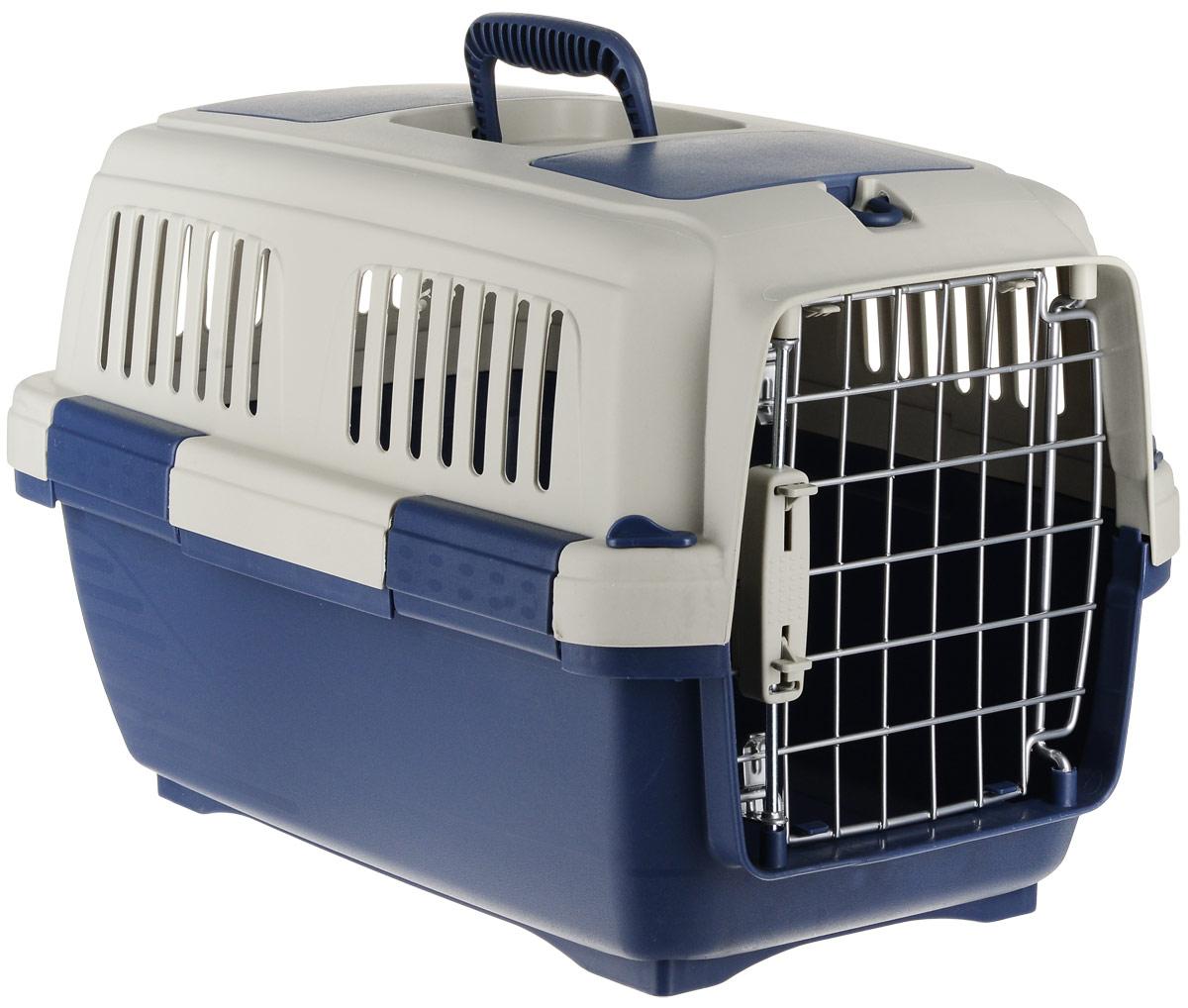 Переноска для животных Marchioro  Tortuga 1 , цвет: синий, бежевый, 50 х 31 х 31 см - Переноски, товары для транспортировки