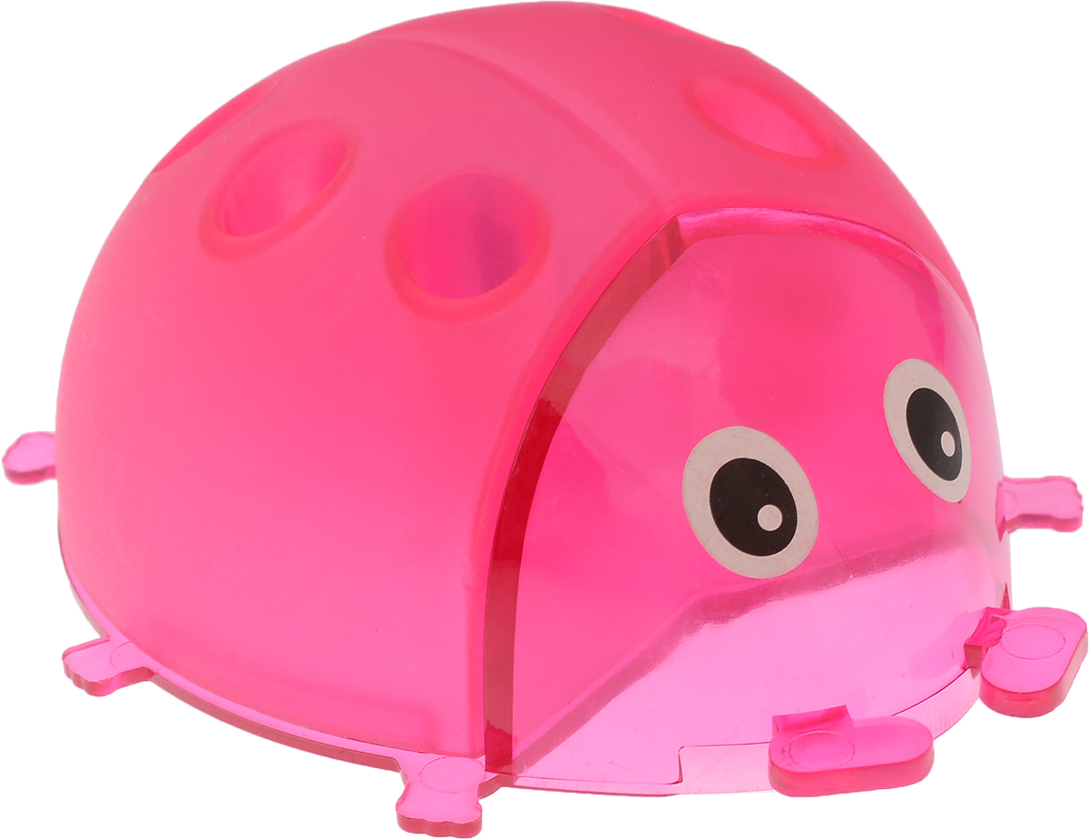 Пифагор Точилка Божья коровка с контейнером цвет розовый222497_розовыйТочилка Пифагор Божья коровка с контейнером предназначена для затачивания деревянных и пластиковых карандашей.Качественное стальное лезвие обеспечивает легкое и равномерное затачивание карандашей.
