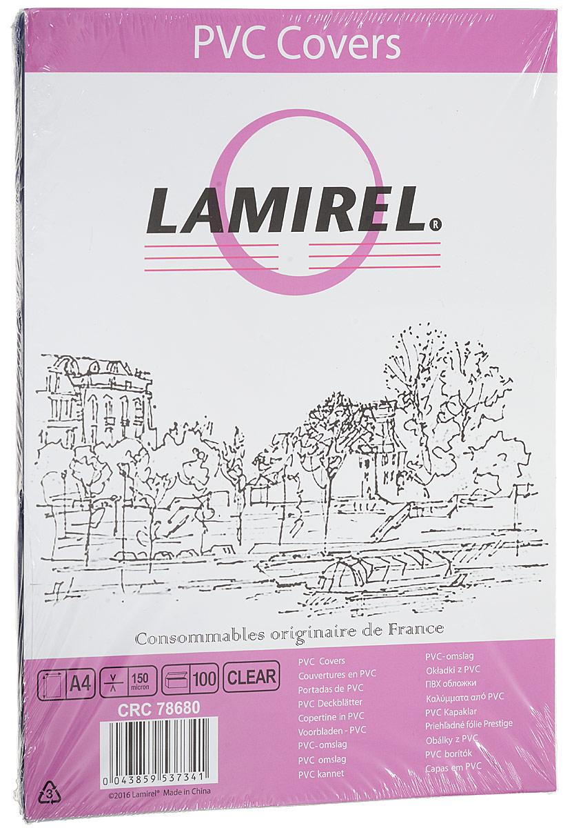 Lamirel LA-78680 Transparent A4 обложка для переплета (100 шт)LA-78680ПВХ обложка Lamirel LA-78680 предназначена для переплета документов формата А4 на пластиковую или металлическую пружину. Обложка изготовлена из ПВХ, что обеспечивает стандартную защиту документа от загрязнений и потертости.Идеально подходит для оформления титульного листа. Прозрачная обложка с тонированием позволяет видеть название брошюры и всю необходимую информацию на первой странице. Различные цвета тонировки помогают визуально различать назначение документа. Это может быть разделение по отделам, сферам применения, месяцу или году создания и т.п.