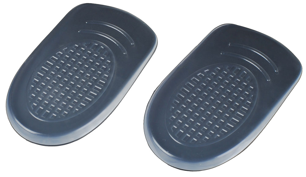 Гелевые вставки для обуви Практика Здоровья под пятку для снижения нагрузки на пятки, цвет: прозрачный. ПП1. Размер универсальныйПП1Повышают комфортность модельной обуви. Снижают ударную нагрузку на пятки при ходьбе. Имеют клеевой слой для фиксации.