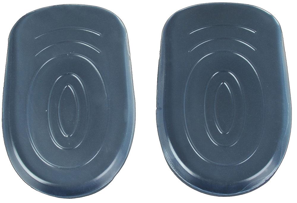 Гелевые вставки для обуви Практика Здоровья под пятку для снижения нагрузки на пятки, цвет: прозрачный. ПП2. Размер универсальныйПП2Повышают комфортность модельной обуви. Снижают ударную нагрузку на пятки при ходьбе. Имеют клеевой слой для фиксации.