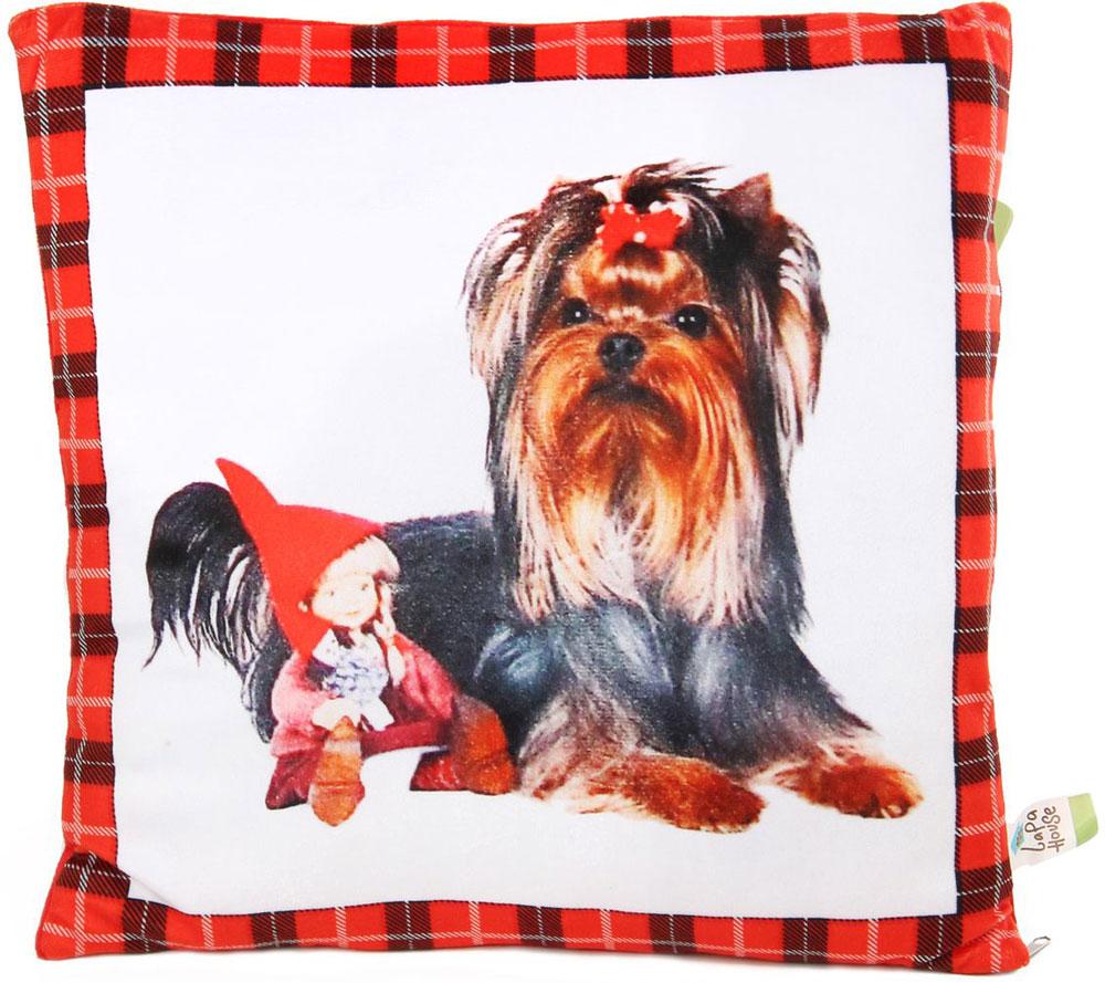 Lapa House Мягкая игрушка-подушка 30 см 56119 интерактивные игрушки lapa house петушок платоша 43181