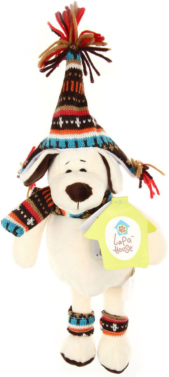 Lapa HouseМягкая игрушка Собачка 18 см Shantou Shun Zhan