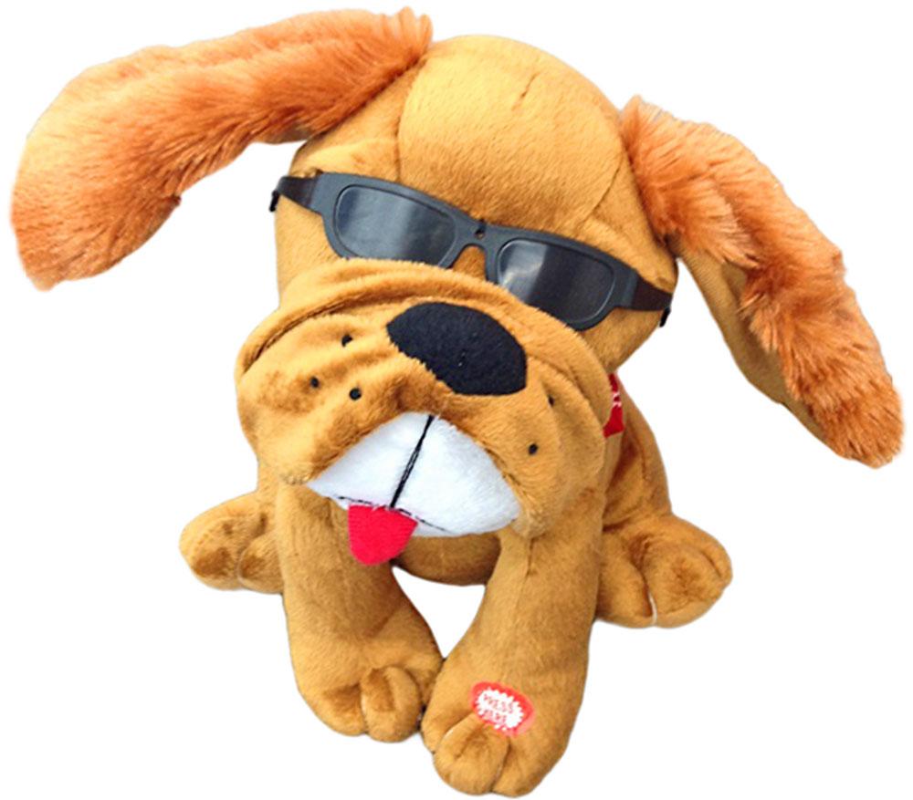 цена на Lapa House Мягкая озвученная игрушка Собачка 22 см 53278