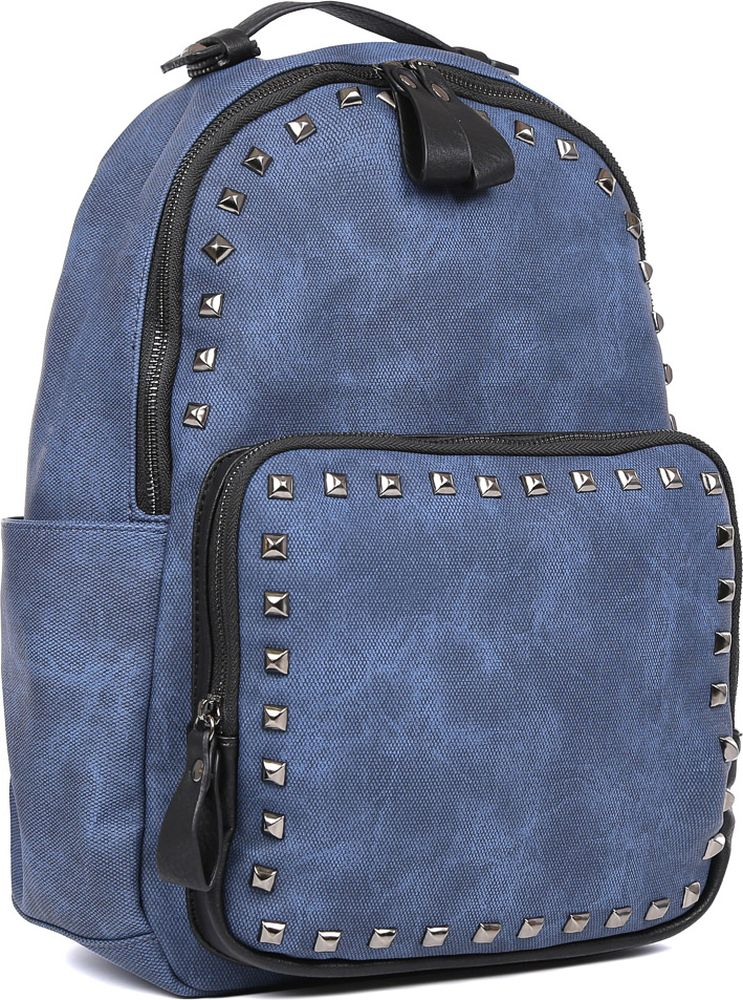 Рюкзак женский Fabretti, цвет: синий. F-79129-1 зонт трость fabretti fabretti fa003dwvzx44