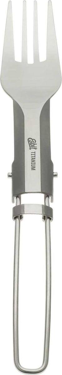 Вилка складная EsbitFF16-TIЛегкая титановая вилка. Очень удобно держать ее в руках. Ручка складывается, делая вилку еще более компактной и универсальной для любых путешествий.