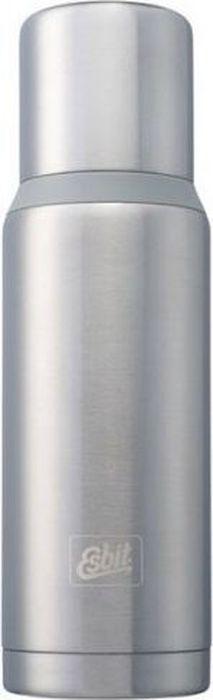 Термос Esbit VFDW, цвет: стальной, серый, 1 лVF1000DW-BSНовый стальной термос. Стальную крышку с двойными стенками можно использовать как чашку, а также в комплект входит еще одна дополнительная чашка. Высококачественная конструкция термоса сохраняет напитки холодными/горячими длительное время. Особенности: высококачественная нержавеющая сталь;прочный;чашка из нержавеющей стали с двойными стенками (250 мл);дополнительная чашка (135 мл);сохраняет напитки холодными/горячими долгое время;внутренняя пробка с резьбой.Характеристики: При температуре воды 98°C и температуре окружающей среды 20°C ± 2°С температура напитка: через 6 ч: 85°C;через 12 ч: 75°C;через 24 ч: 60°C.Технические характеристики: Материал: нержавеющая стальРазмер: 295 х 90 ммВес: 589 гОбъем: 1000 мл