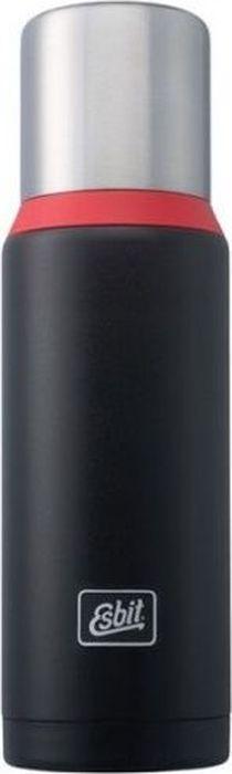 Термос Esbit VFDW, цвет: черный, красный, 1 лVF1000DW-BRНовый стальной термос. Стальную крышку с двойными стенками можно использовать как чашку, а также в комплект входит еще одна дополнительная чашка. Высококачественная конструкция термоса сохраняет напитки холодными/горячими длительное время. Особенности:высококачественная нержавеющая сталь;прочный;чашка из нержавеющей стали с двойными стенками (250 мл);дополнительная чашка (135 мл);сохраняет напитки холодными/горячими долгое время;внутренняя пробка с резьбой.Характеристики: При температуре воды 98°C и температуре окружающей среды 20°C ± 2°С температура напитка:через 6 ч: 85°C;через 12 ч: 75°C;через 24 ч: 60°C.Технические характеристики: Материал: нержавеющая стальРазмер: 295 х 90 ммВес: 589 гОбъем: 1000 мл