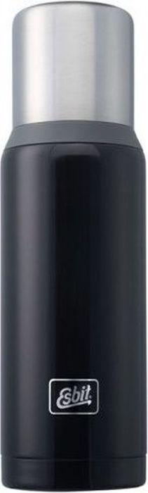 Термос Esbit VFDW, цвет: темно-синий, серый, 1 лVF1000DW-BGНовый стальной термос. Стальную крышку с двойными стенками можно использовать как чашку, а также в комплект входит еще одна дополнительная чашка. Высококачественная конструкция термоса сохраняет напитки холодными/горячими длительное время. Особенности: высококачественная нержавеющая сталь;прочный;чашка из нержавеющей стали с двойными стенками (250 мл);дополнительная чашка (135 мл);сохраняет напитки холодными / горячими долгое время;внутренняя пробка с резьбой.Характеристики: При температуре воды 98°C и температуре окружающей среды 20°C ± 2°С температура напитка: через 6 ч: 85°C;через 12 ч: 75°C;через 24 ч: 60°C.Технические характеристики: Материал: нержавеющая стальРазмер: 295 х 90 ммВес: 589 гОбъем: 1000 мл