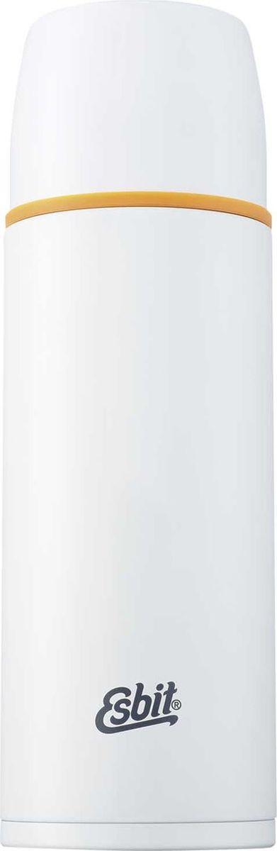Термос Esbit Polar, цвет: белый, оранжевый, 1 лPOLAR1000MLТермос из нержавеющей стали с двумя чашками и дополнительной пробкой. Удобно наливать напитки. Высококачественная конструкция термоса сохраняет напитки холодными/горячими длительное время. Особенности: высококачественная нержавеющая сталь;крышка превращается в 2 чашки;сохраняет напитки холодными / горячими длительное время;внутренний пробка с возможностью наливания жидкости;удобно мыть;дополнительная пробка с резьбой.Характеристики:При температуре воды 98°C и температуре окружающей среды 20°C ± 2°С температура напитка: Через 6 ч: 85°C;Через 12 ч: 75°C;Через 24 ч: 60°C.Технические характеристики: Материал: нержавеющая стальРазмер: 275 х 90 ммВес: 537 гОбъем: 1000 мл