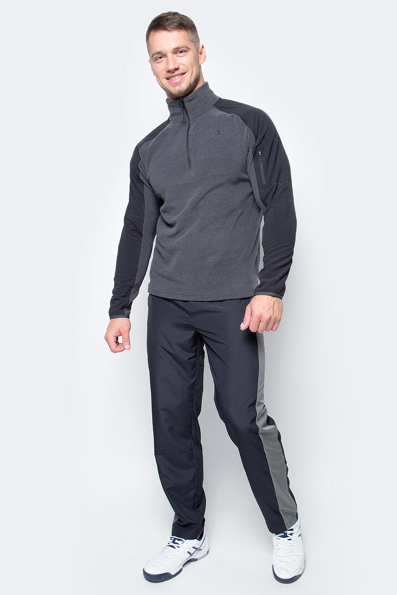 Толстовка мужская The North Face M Glacier Del 1/4 Zp, цвет: серый. T92UAPDYZ. Размер XXL (52/54)T92UAPDYZПрактичная мужская толстовка The North Face выполнена из 100% полиэстера. Модель с длинными рукавами и воротником-стойкой застегивается на застежку-молнию. Модель оформлена логотипом бренда.