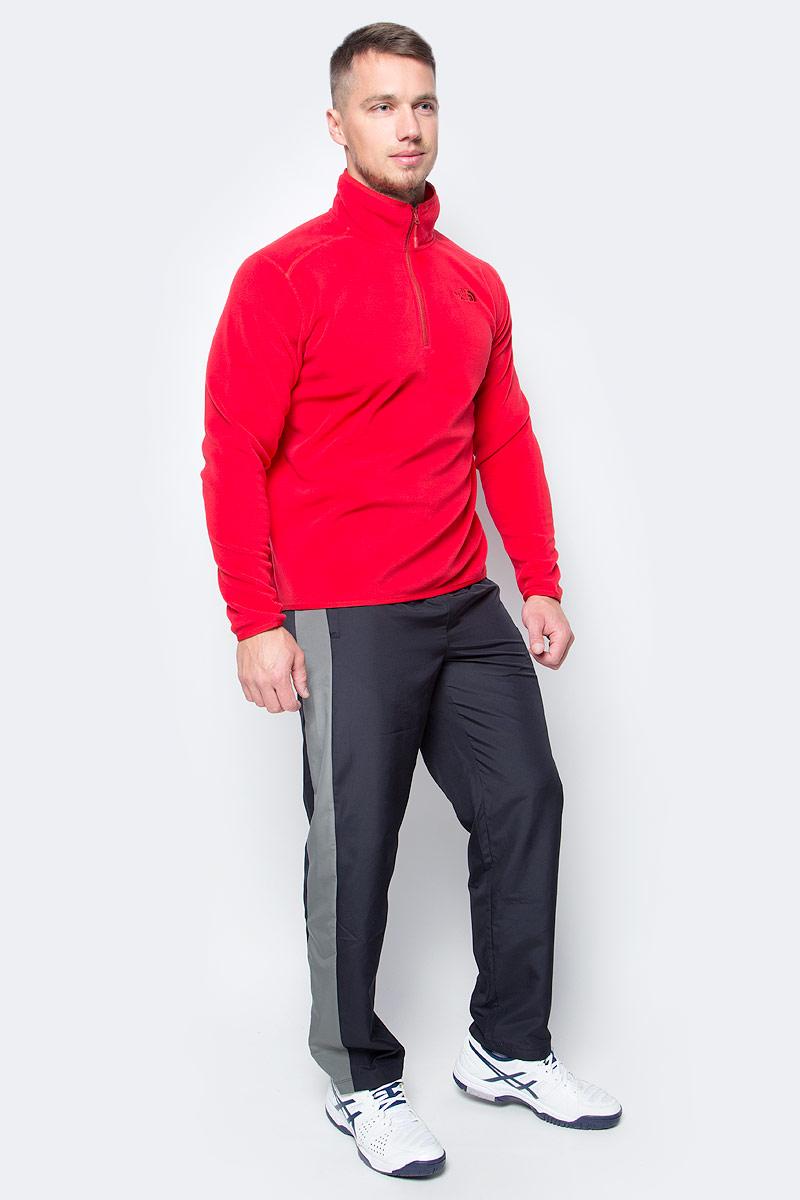 Толстовка мужская The North Face M 100 Glacier 1/4 Zip, цвет: красный. T92UAR682. Размер XXL (52/54)T92UAR682Толстовка поможет сохранить тепло и свободу движения на более высоких участках пути во время экспедиций как в ясную, так и в пасмурную погоду. Флис Polartec Classic отличается легким весом и обеспечивает исключительное тепло, в то же время сохраняя свободу движения и комфорт в течение продолжительного времени. Застежка-молния на воротнике обеспечивает дополнительный воздухообмен в период высокой активности. Толстовку можно носить как самостоятельно, так и в качестве слоя утеплителя.