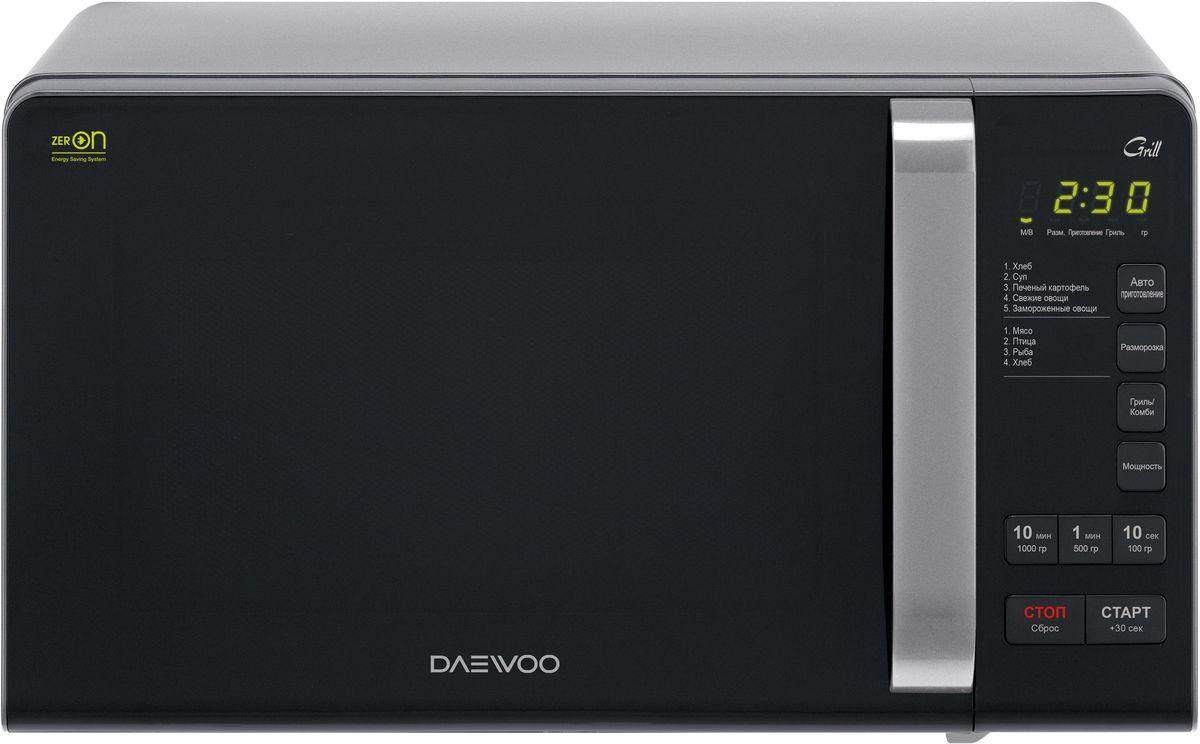 Daewoo KQG-663D, Black Silver СВЧ-печьKQG-663D