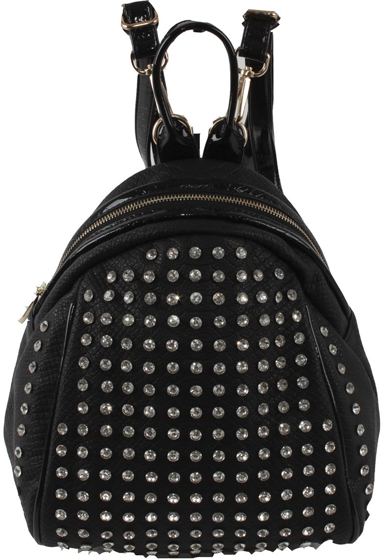 Сумка-рюкзак женская Flioraj, цвет: черный. 69151 black