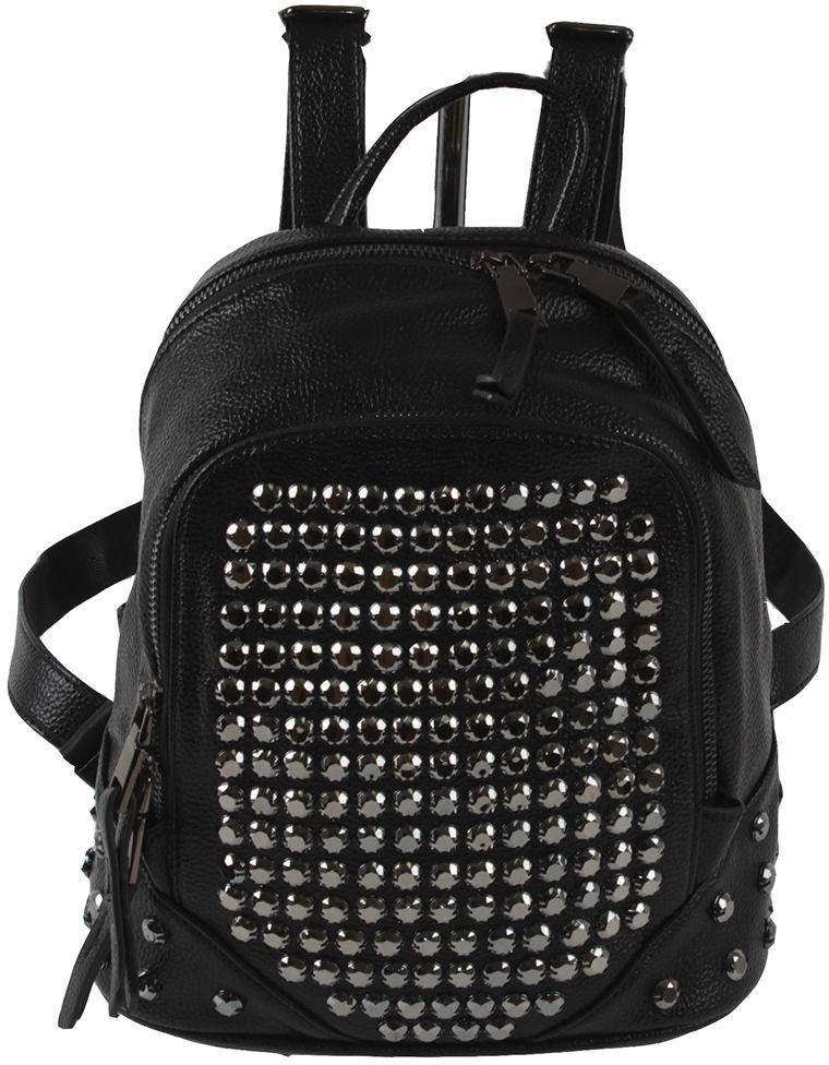 Сумка-рюкзак женская Flioraj, цвет: черный. 7598-18 black
