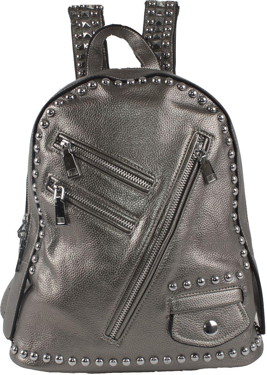 Сумка-рюкзак женская Flioraj, цвет: серый. 554-1-1605/05