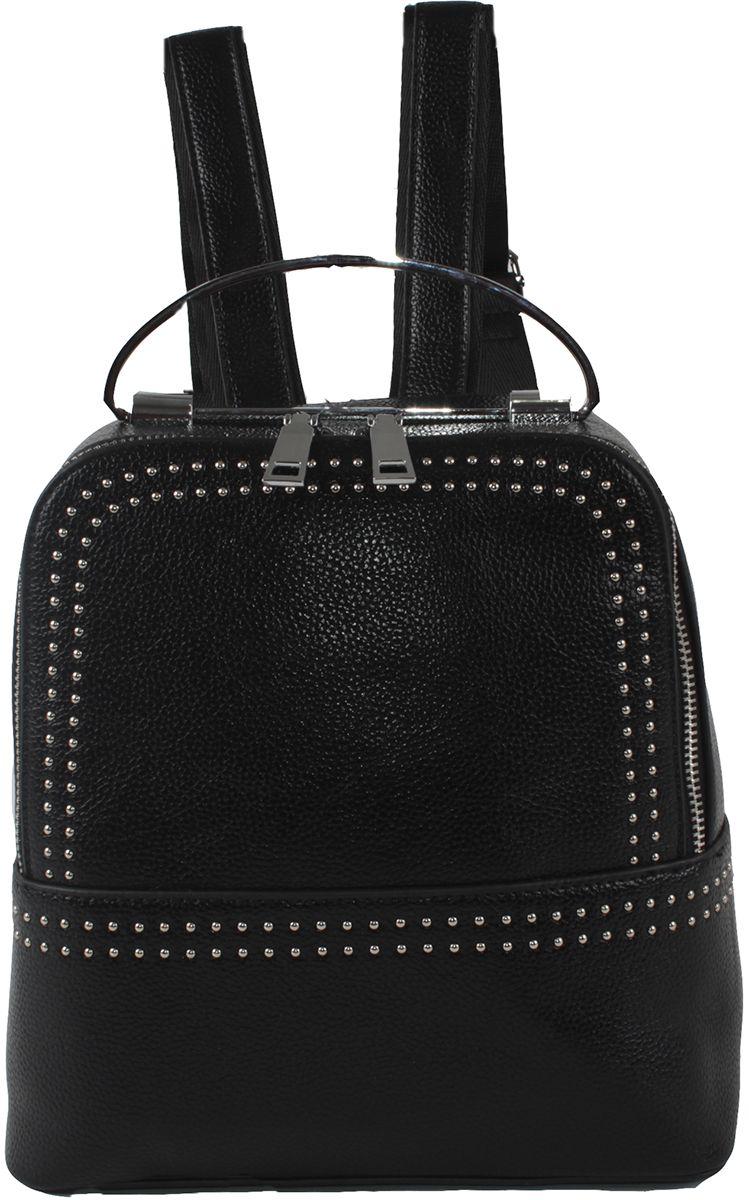 Сумка-рюкзак женская Flioraj, цвет: черный. 9800-1605/101