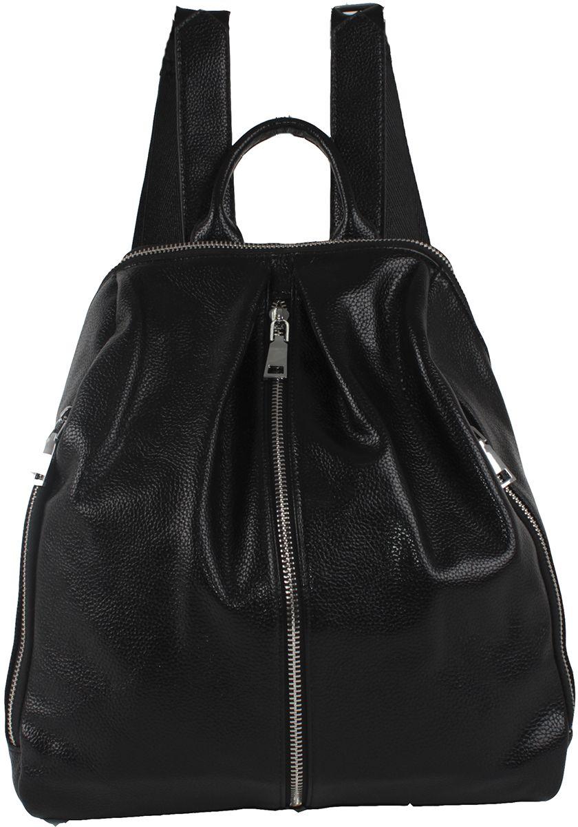 Сумка-рюкзак женская Flioraj, цвет: черный. 9806-1605/101 цена