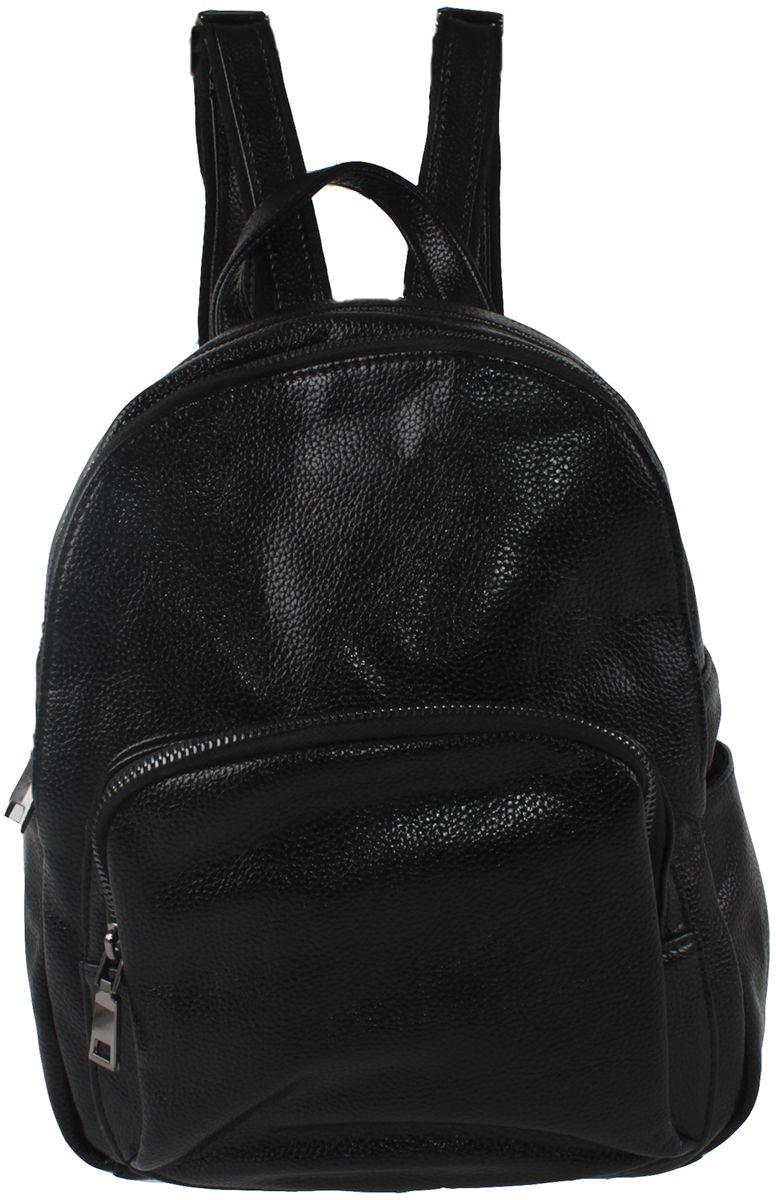 Сумка-рюкзак женская Flioraj, цвет: черный. 601-02-1605/101