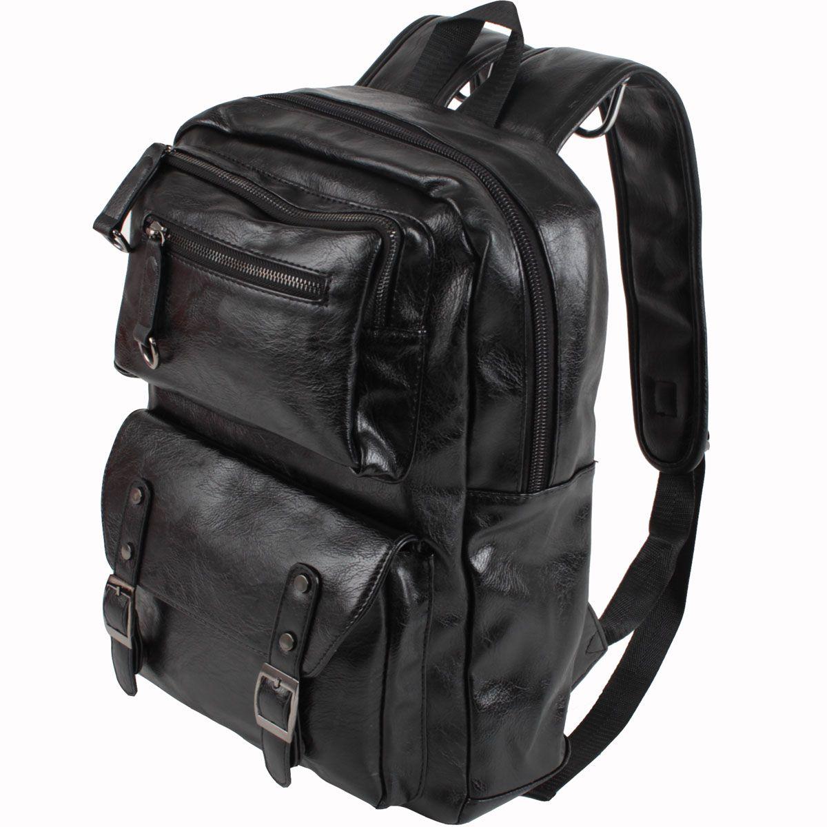 Сумка-рюкзак Flioraj, цвет: черный. 0818 черн