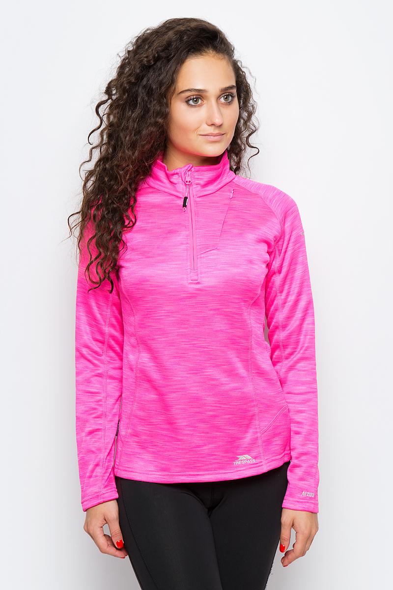 Толстовка женская Trespass Fairford, цвет: розовый. FAFLFLK10001. Размер XS (42)