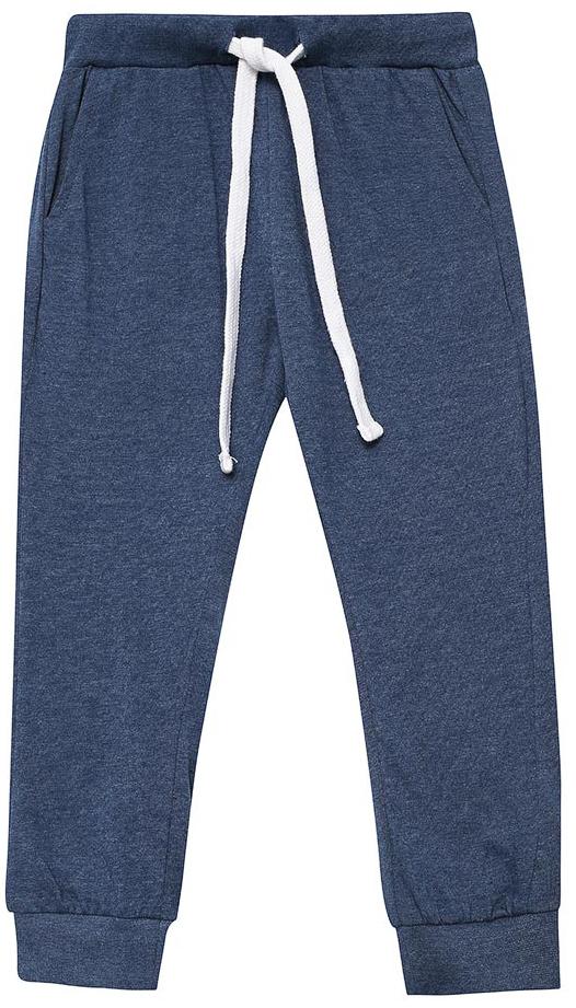 Брюки для дома для мальчика Sela, цвет: серый. PH-7865/005-7311. Размер 116/122PH-7865/005-7311Домашние брюки для мальчика от Sela выполнены из хлопкового трикотажа. Модель на талии дополнена широкой эластичной резинкой со шнурком. Брючины имеют широкие трикотажные манжеты. По бокам брюки дополнены втачными карманами.