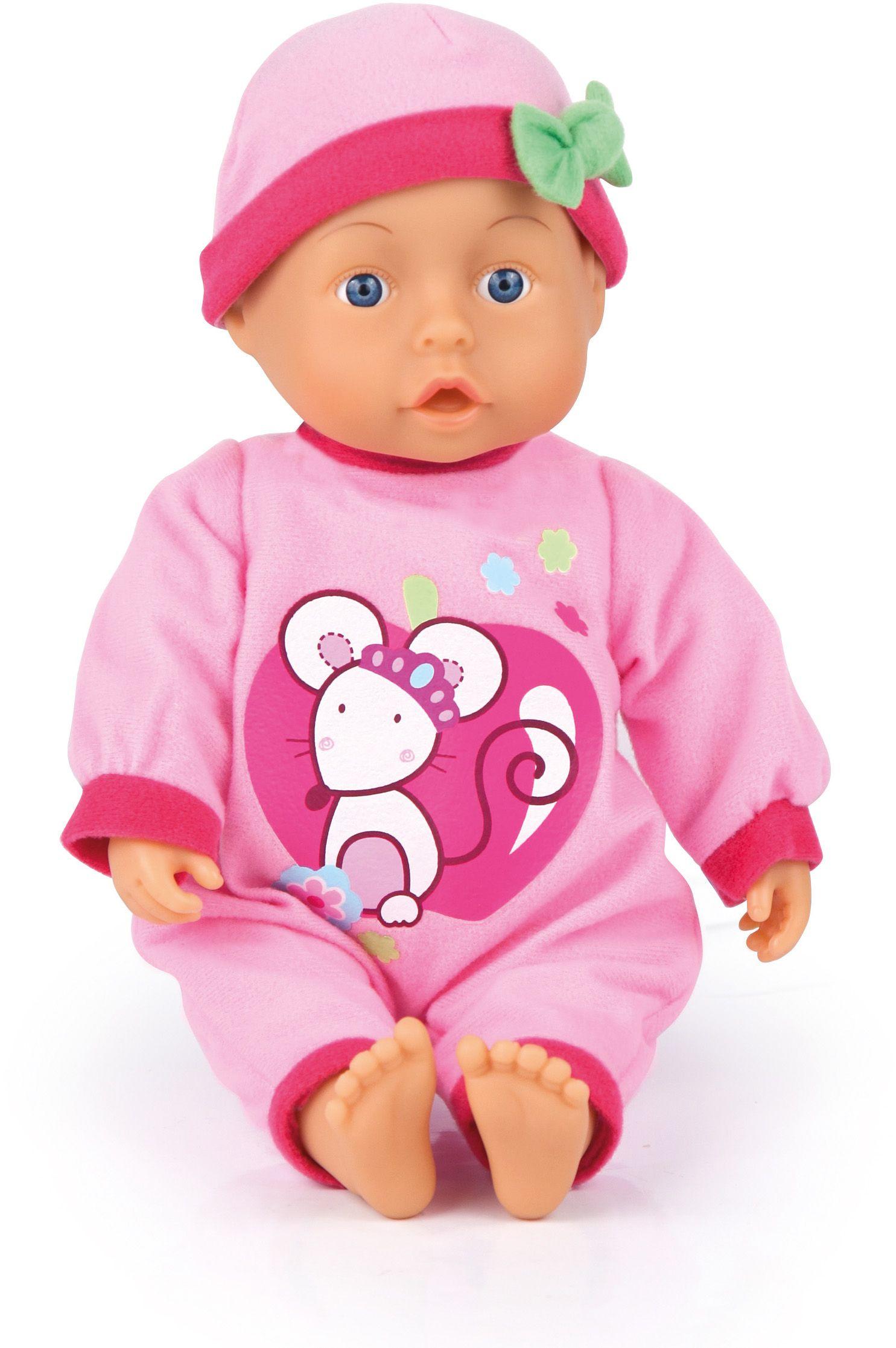 Bayer Design Пупс Малыш - мои первые слова 33 см 93363AB купить куклу младенца
