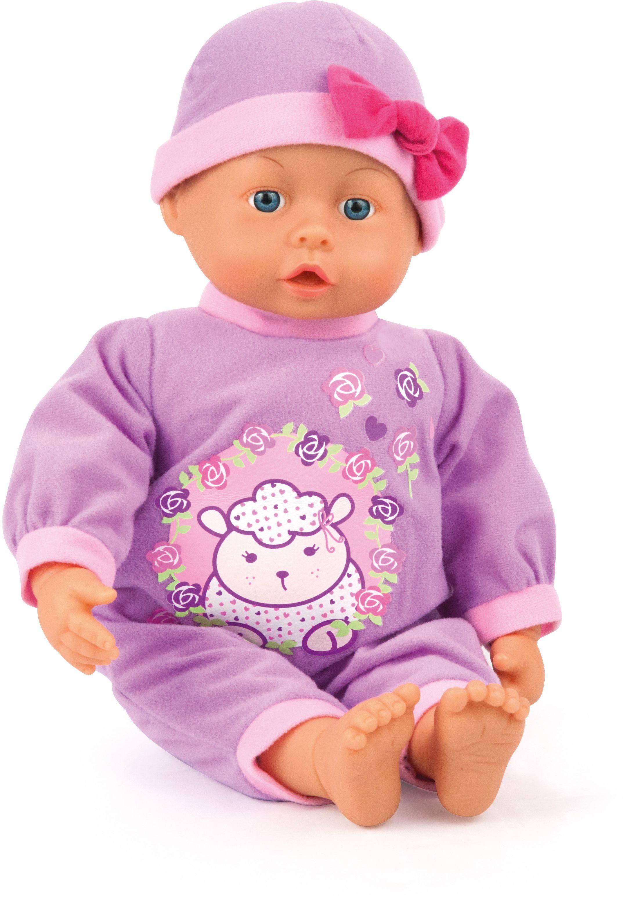 Bayer Design Пупс Малыш  мои первые слова 33 см 93363AC - Куклы и аксессуары