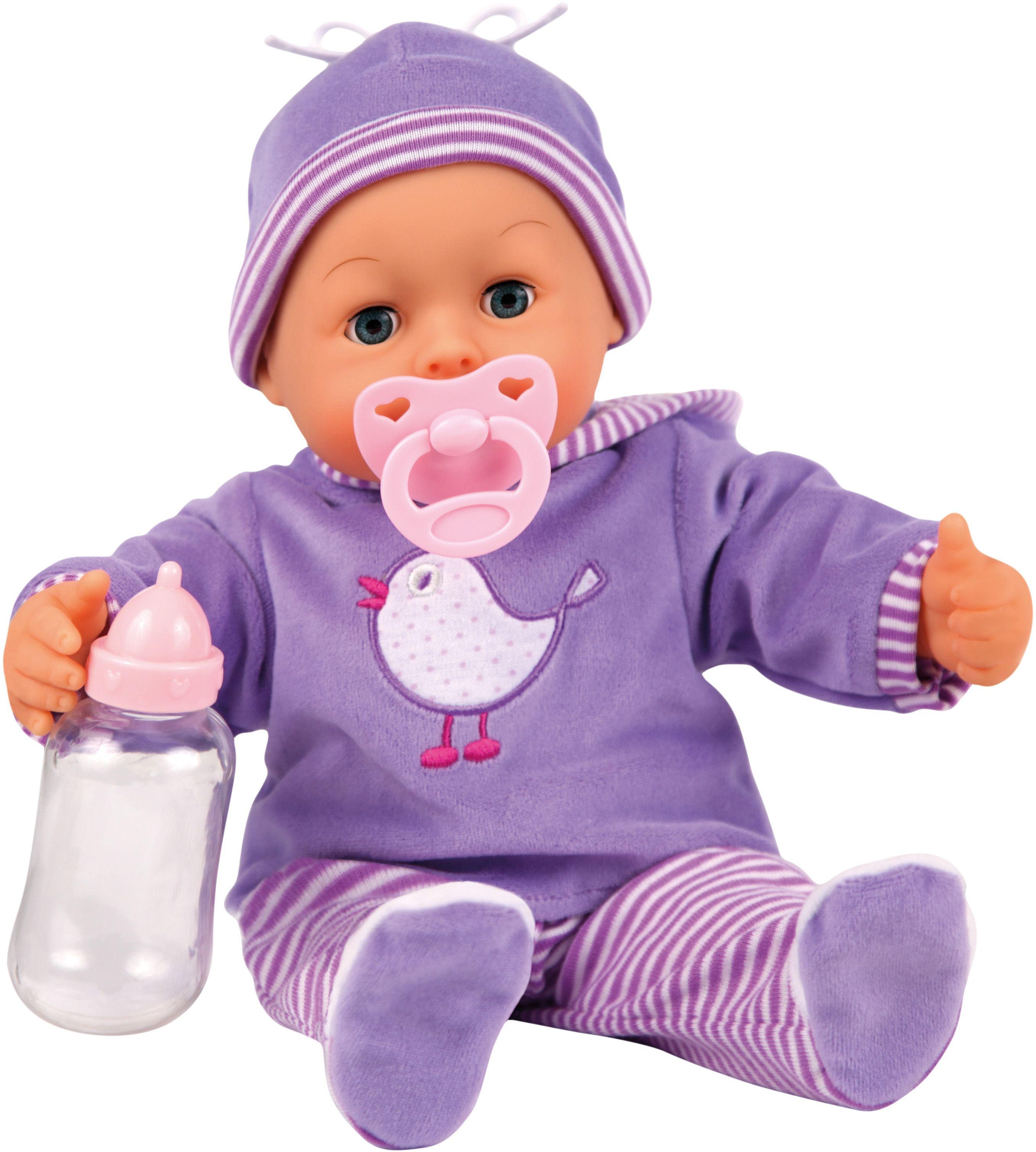 Bayer Design Пупс Малыш  мои первые слова 38 см 9381700 - Куклы и аксессуары