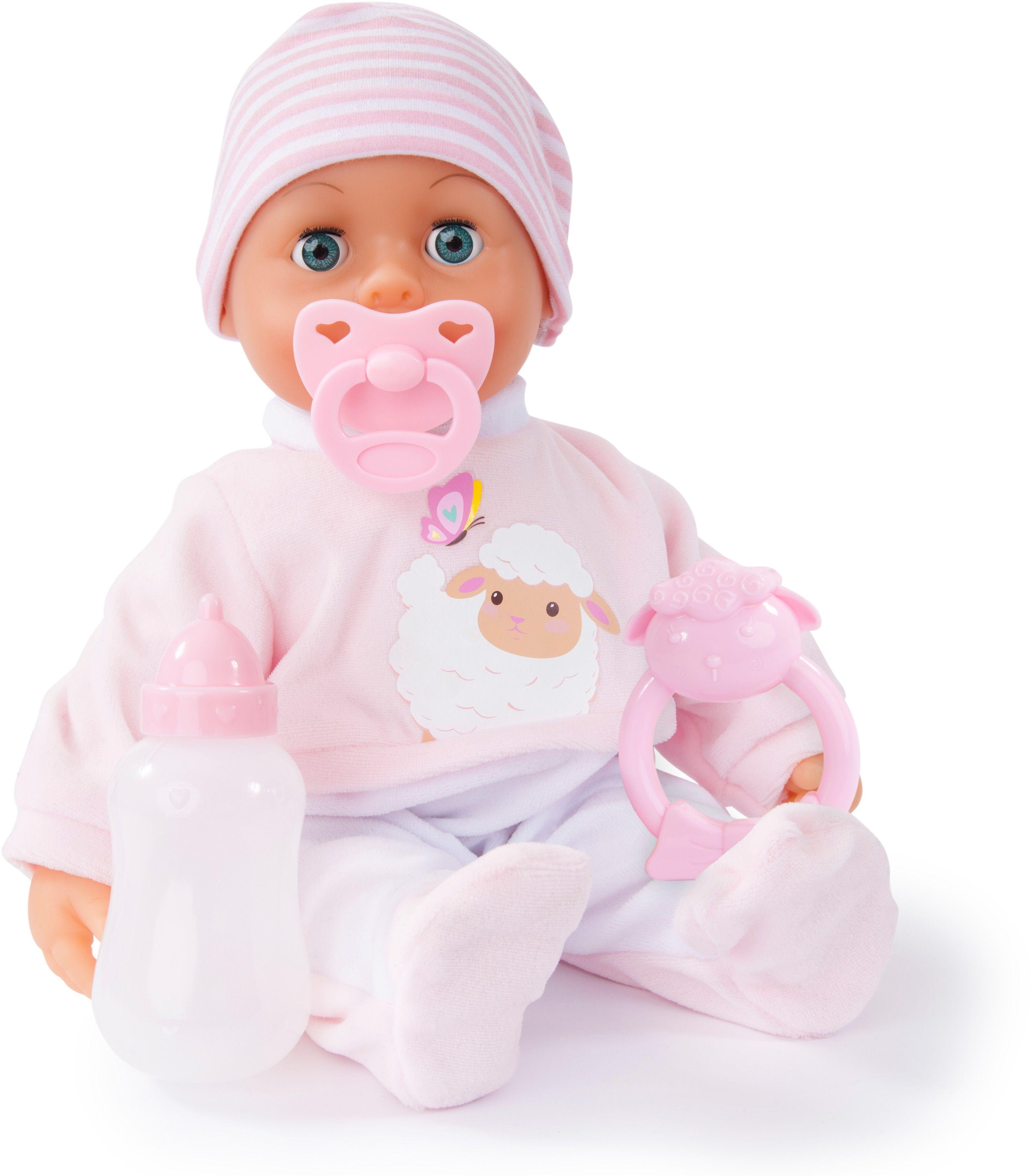 Bayer Design Пупс Малыш  мои первые слова 38 см 93824AA - Куклы и аксессуары