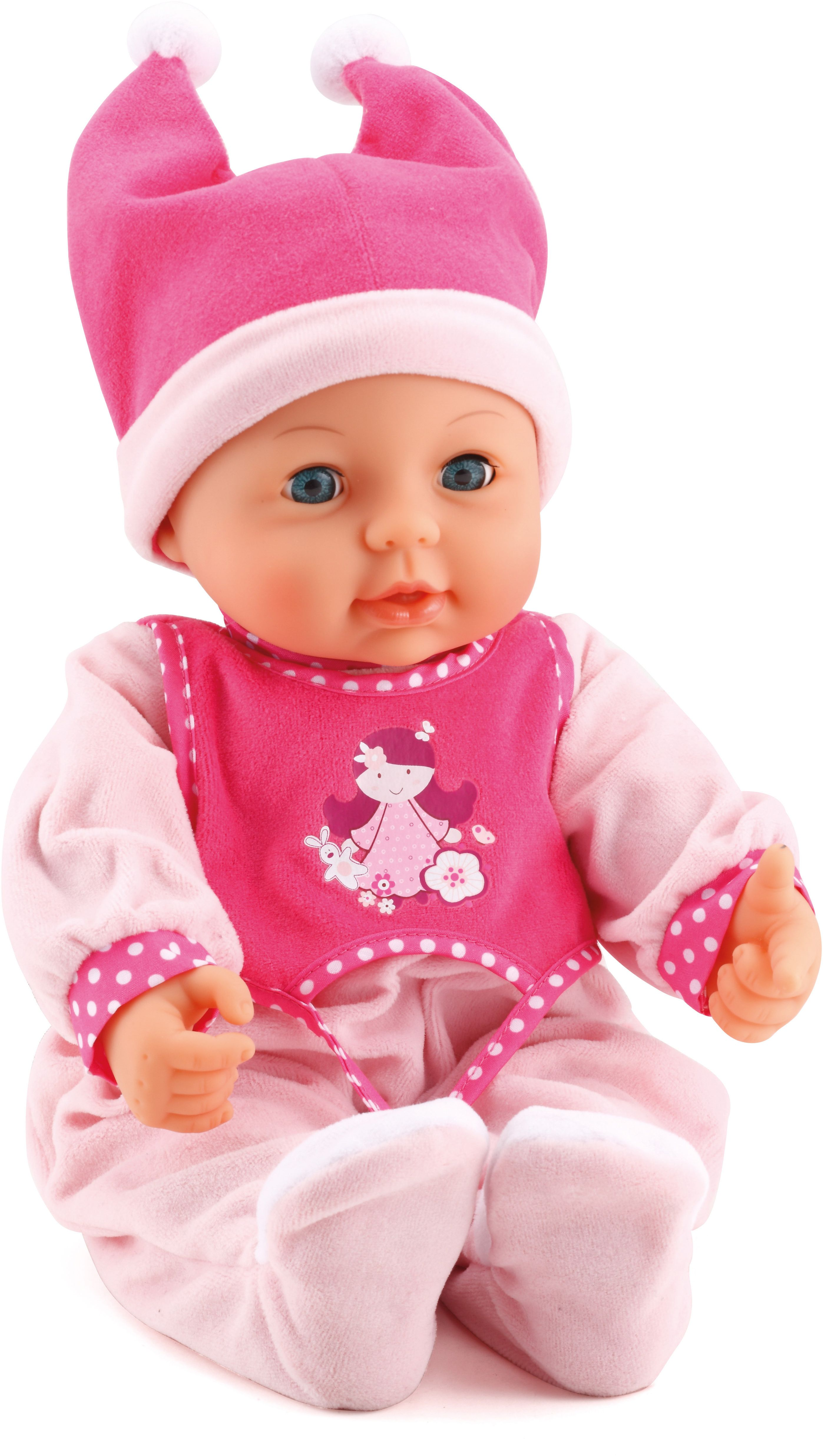 Bayer Design Кукла Малышка Первый поцелуй 42 см - Куклы и аксессуары