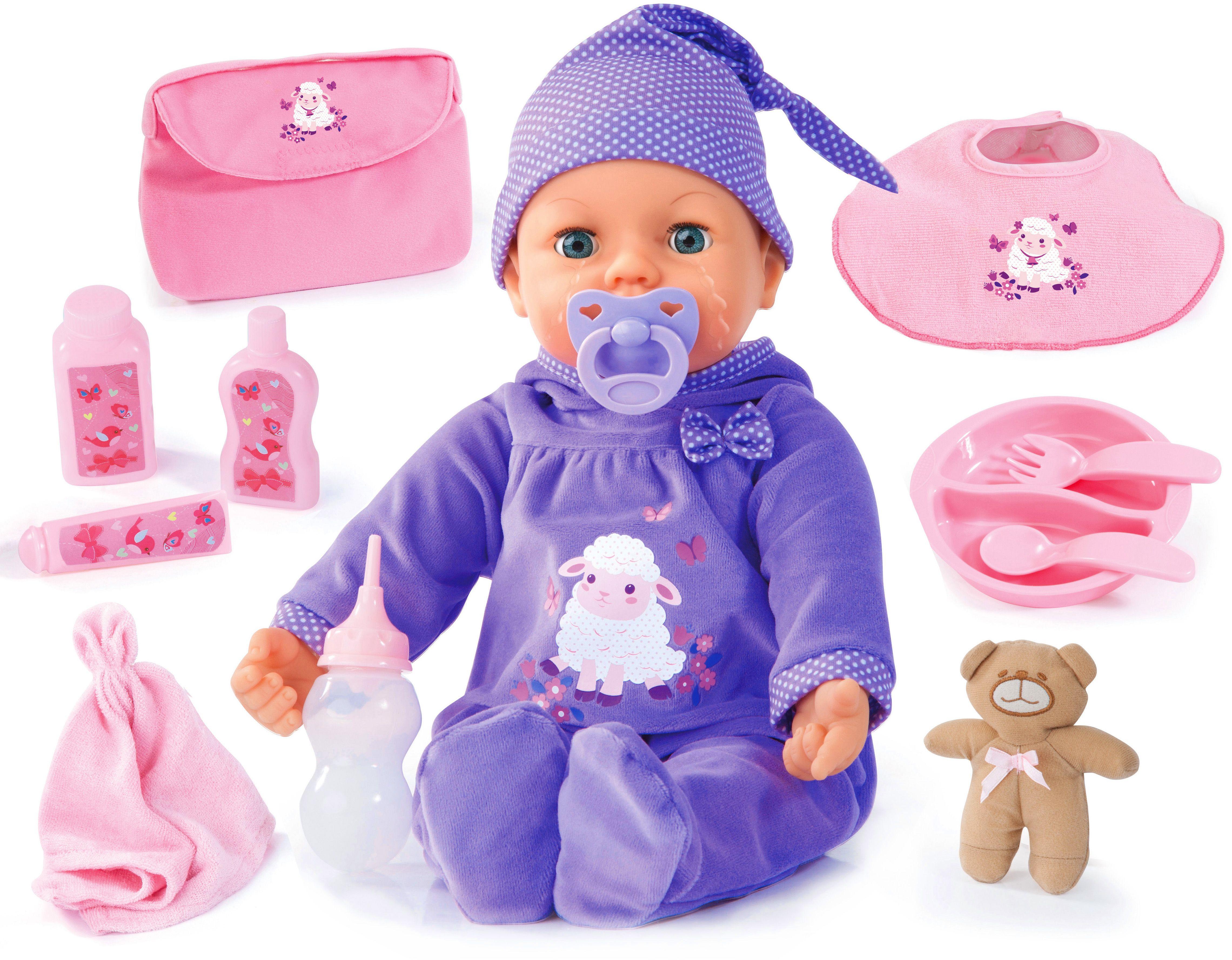 Bayer Design Игровой набор с куклой Пикколина с настоящими слезами 46 см - Куклы и аксессуары