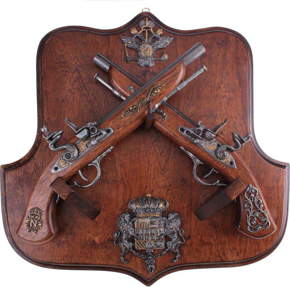 Сувенирное оружие La Balestra Макет 2 пистолей Российское княжество, на планшете, 44 х 42 х 10 см 2 х комфорочную варочную панель