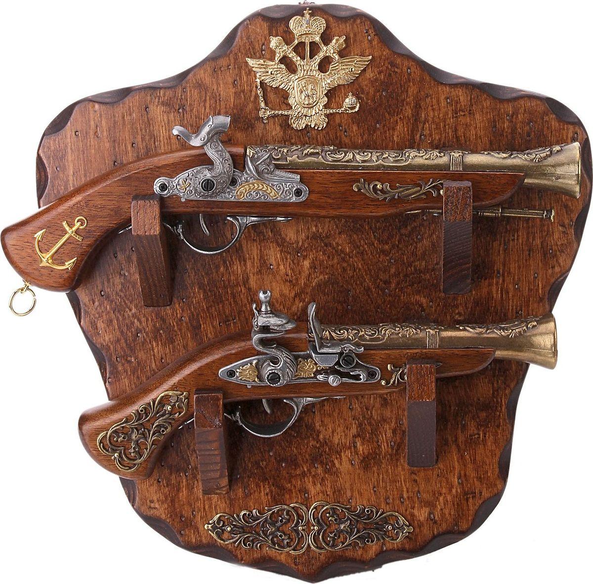 Сувенирное оружие La Balestra Макет 2 пистолей Николай II, на планшете, 40 х 35 х 7 см 2 х комфорочную варочную панель