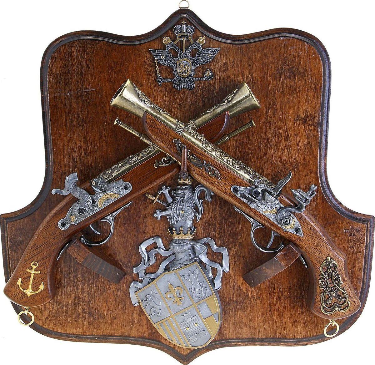Сувенирное оружие La Balestra Макет 2-х пистолей Адмиральские, на планшете, 44 х 42 х 8 см 2 х комфорочную варочную панель