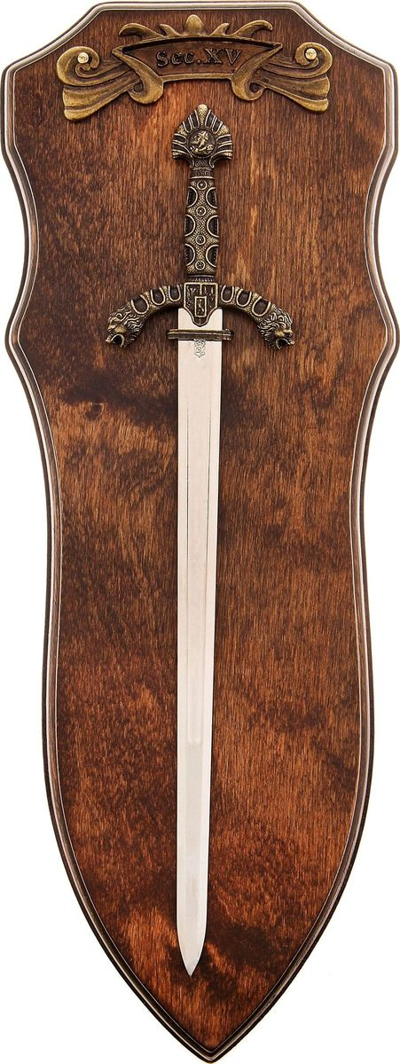 Сувенирное оружие Medio Evo Клинок XV века, 34 х 12 х 3,5 см прогулочные коляски aroteam medio